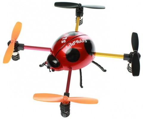 Квадрокоптер SH Lady Bug 2.4GHz RTF 6043 Красный