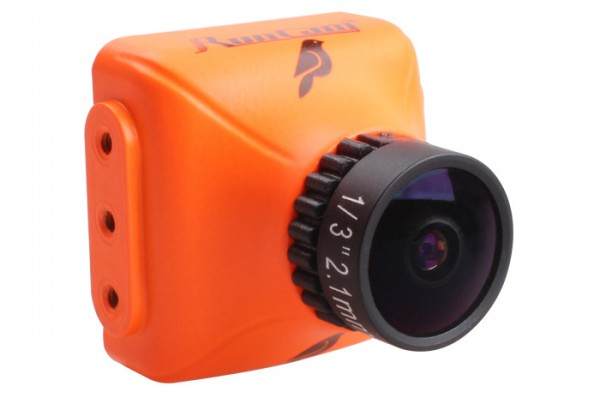 "RunCam Sparrow (Orange) 700TVL 16:9 L2.1mm 150° WDR MIC OSD 1/3"" CMOS FPV Camera"