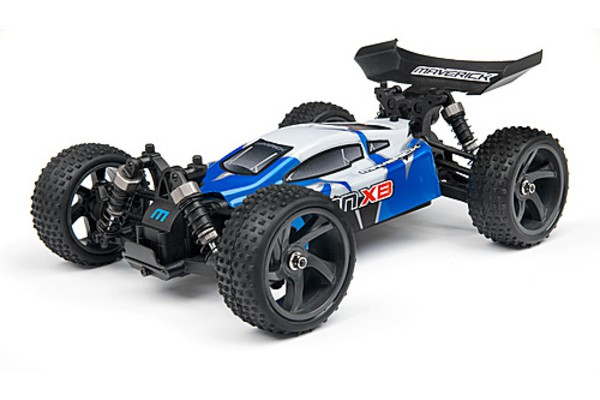 Автомобиль Maverick iON XB 4WD 1:18 EP (Blue RTR Version) Синий