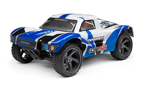 Автомобиль Maverick iON SC 4WD 1:18 EP (Blue RTR Version) Синий