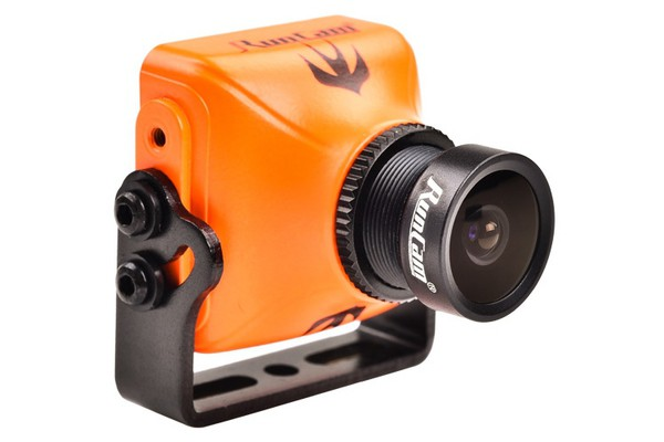 "RunCam Swift2 (Orange) 600TVL 4:3 L2.1mm 165° D-WDR MIC OSD CCD 1/3"" FPV Camera"