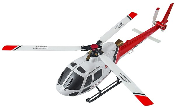 Вертолет WLtoys V931 AS350 3D 2.4GHz FBL RTF Красный