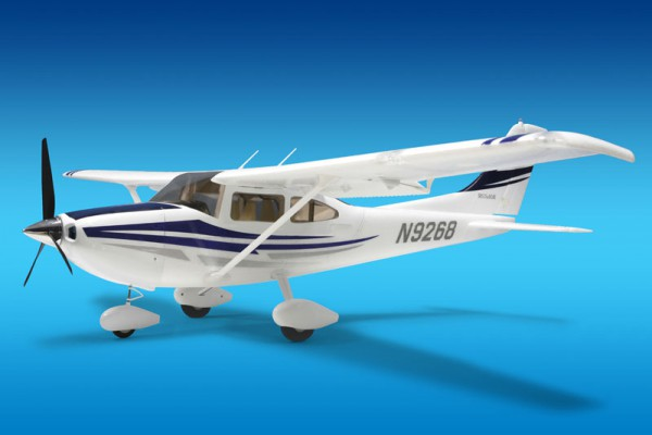 Самолет Art-Tech Cessna 182 500CL V2 2.4GHz (RTF Version) 2127D Бело-голубой