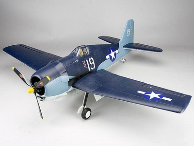 Самолет Art-Tech F6F Hellcat 2.4GHz (RTF Version) 21391 Серый