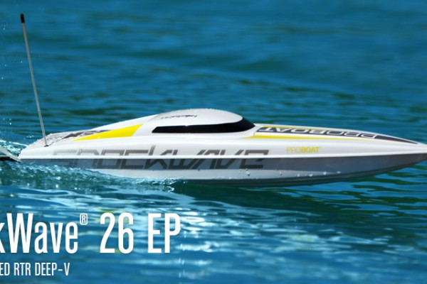 Катер PRO Boat USA Shock Wave 26 V3 2.4GHz (RTR Version) PRB0600