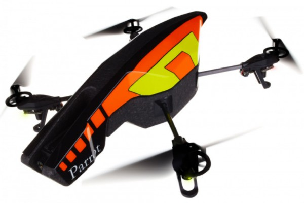 Квадрокоптер Parrot AR.Drone 2.0 Yellow Желтый PF7210