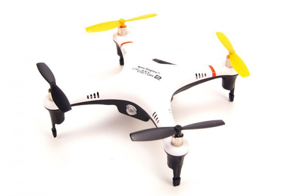 Квадрокоптер Nine Eagles Galaxy Visitor 2 RTF 2.4GHz S-FHSS (NE R/C MASF11) NE201464 Бело-черный