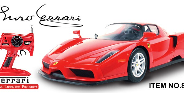 Автомобиль MJX R/C Ferrari ENZO Full Function 1:10 27MHz (RTR Version) 8202