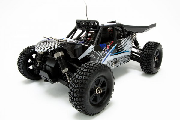 Автомобиль Himoto Barren E18DB 1:18 Desert Buggy Brushed Коллекторный Синий
