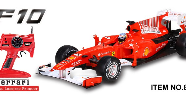 Автомобиль MJX R/C Ferrari F10 Full Function 1:10 27MHz (RTR Version) 8235