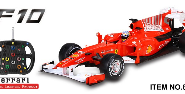 Автомобиль MJX R/C Ferrari F10 Full Function 1:20 27MHz (RTR Version) 8135