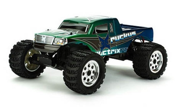 Автомобиль ECX Ruckus 2WD 1:10 EP 2.4Ghz (RTR Version) Зеленый ECX2100S