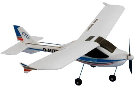 Самолет Nine Eagles CTLS 2.4 GHz  (RTF Version) NE250004 (NE R/C 791B) Бело-голубой