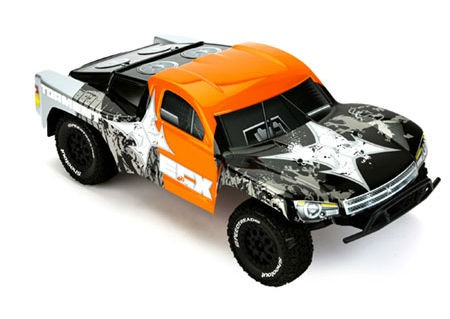 Автомобиль ECX Torment 2WD 1:10 EP 2.4Ghz (RTR Version) Черный ECX4000S
