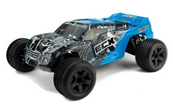 Автомобиль ECX Circuit Stadium Truck 2WD 1:10 EP 2.4Ghz (RTR Version) ECX03000