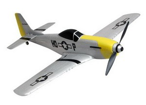 Самолет Nine Eagles P-51 Mustang 2.4 GHz (RTF Version) NE30277924214001A (NE R/C 779B) Серебристый