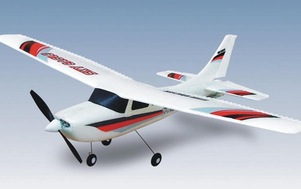 Самолет Nine Eagles Sky Eagle 770B 2.4GHz (RTF) NE30177024210 Белый