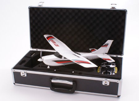 Самолет Nine Eagles Sky Eagle 770B 2.4GHz в кейсе (White RTF Version) NE30177024211 Белый