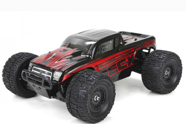Автомобиль ECX Ruckus Monster 1:18 RTR 267 мм 4WD 2,4 ГГц (ECX01000T1)