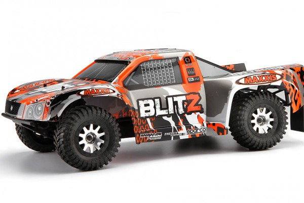 Автомобиль HPI Blitz Scorpion 2WD 1:10 EP 2.4GHz (Black/Orange RTR Version) 105833 Black/Orange/Silver