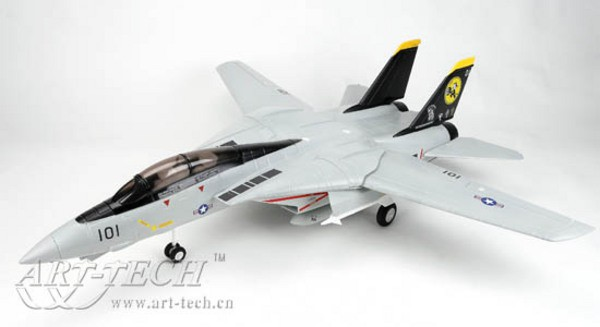 Самолет Art-Tech F-14 Tomcat 2.4GHz 1000 мм RTF AT21291