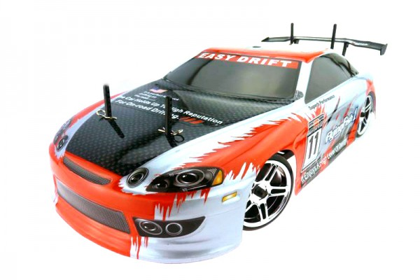 Автомобиль Himoto HI4123BLr - Дрифт 1:10 DRIFT TC HI4123BL Brushless (Красный)