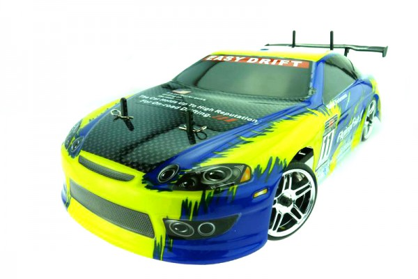 Автомобиль Himoto HI4123BLb - Дрифт 1:10 DRIFT TC HI4123BL Brushless (Синий)