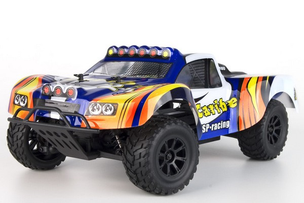 Автомобиль HSP Caribe Short Course Truck 4WD 1:18 EP (RTR Version) Синий (94807)