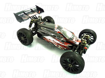 Автомобиль Himoto MegaE8XBLr - Багги 1:8 Shootout MegaE8XBL Brushless (Красный)