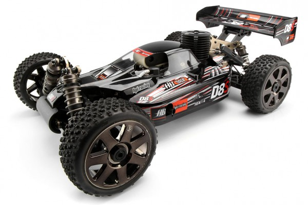 Автомобиль HPI D8S Nitro Buggy 4WD 1:8 2.4GHz (RTR Version) 106118