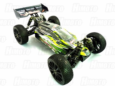 Автомобиль Himoto MegaE8XBLg - Багги 1:8 Shootout MegaE8XBL Brushless (Зелёный)