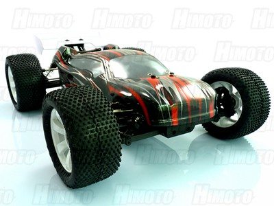 Автомобиль Himoto MegaE8XTLr - Трагги 1:8 Ziege MegaE8XTL Brushless (Красный)