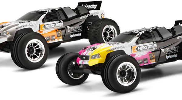 Автомобиль HPI E-Firestorm 10T Flux 2WD 1:10 EP 2.4 GHz (RTR Version) 105878 (105879)