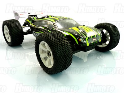 Автомобиль Himoto MegaE8XTLg - Трагги 1:8 Ziege MegaE8XTL Brushless (Зелёный)