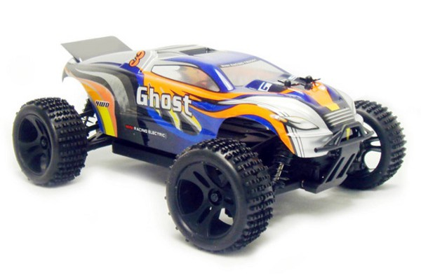 Автомобиль HSP Ghost Truggy 4WD 1:18 EP (RTR Version) Синий (94803)