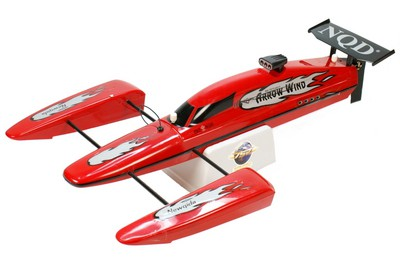 Тримаран CTW NQD Arrow Wind RC 1:16 (Red RTR Version) REB394017 Красный