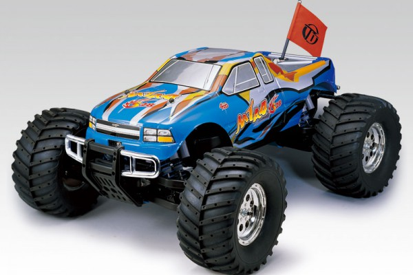 Автомобиль Thunder Tiger MTA-4 S28 MONSTER TRUCK 1:8 Нитро (6228-F101) Синий