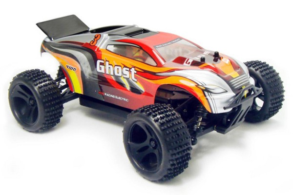Автомобиль HSP Ghost Truggy 4WD 1:18 EP (RTR Version) Красный (94803)