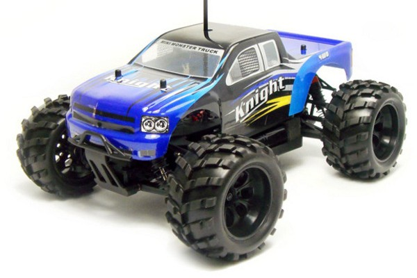 Автомобиль HSP Knight Off-road Truck 4WD 1:18 EP (RTR Version) Синий (94806)