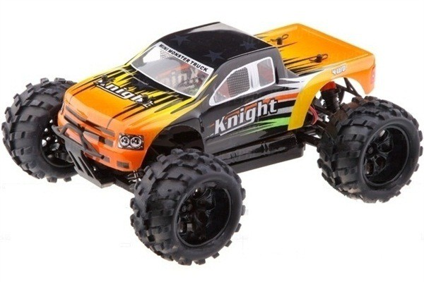Автомобиль HSP Knight Off-road Truck 4WD 1:18 EP (RTR Version) Желтый (94806)